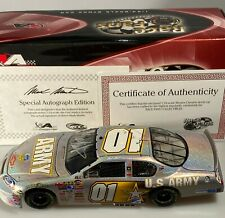 Autographed 2007 Mark Martin #1 Army American Heroes Monte Carlo SS Mesma Chrome