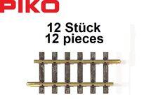 Piko 35202 G escala G160 Straight track 16.2cm