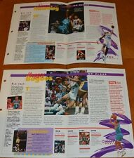 SPORTS HEROES FEATS & FACT SHEETS CHARL. HORNETS MUGGSY BOGUES ALONZO MOURNING