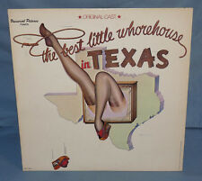 THE BEST LITTLE WHOREHOUSE IN TEXAX Original Cast Recording LP 1978 VG+/EX
