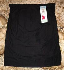 ASSETS SPANX Featherweight Firmers Half Slip BLACK Skirt NEW Womens Sz L XL