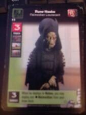 Young Jedi TCG Enhanced Rune Haako, Neimoidian Lieutenant NrMint-Mint