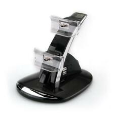 Dual LED Controller Charger Dock Charging Station Stand Hold F Ps3 PlayStation