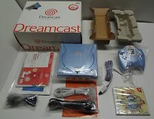 Sega Dreamcast System Pearl Blue Limited Japan loose