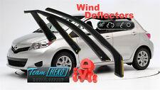 TOYOTA YARIS   09/2011 -  5.doors  Wind deflectors 4.pc  HEKO 29622