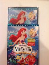 The Little Mermaid (DVD,2006,2-Disc,Platinum Edition)NEW Authentic Buena Vista