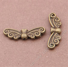 20pc Antique Bronze Angel wings Spacer Beads Findings Accessories B302P