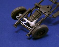 """Resicast 1/35 """"Workable"""" Front Axle & Steering for Tamiya Jeep kit"""