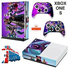 FORTNITE SEASON 6 XBOX ONE S (SLIM) *TEXTURED VINYL ! * PROTECTIVE SKIN  WRAP