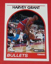 # 67 HARVEY GRANT WASHINGTON BULLETS 1989 NBA HOOPS BASKETBALL CARD
