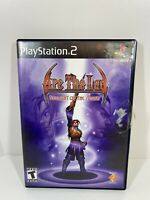 Arc the Lad: Twilight of the Spirits (Sony PlayStation 2, 2003 PS2) -Complete