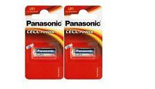 Panasonic lot de 2 piles LR1 MN9100 N   1.5V alcaline (en blister de 1 pile)