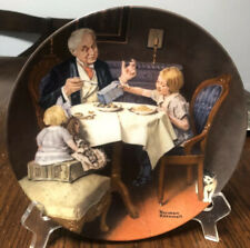 """Norman Rockwell Collector's Plate """"The Gourmet� Plate Number 17718T"""