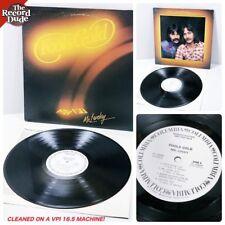 "FOOL'S GOLD ""Mr. Lucky"" COLUMBIA beautiful vinyl! white label promo dj 1ed LP"
