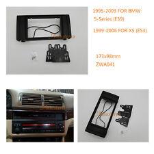 Car Radio Fitting fascia for BMW 5 Series (E39) 1995-2003 X5 (E53) 1999-2006