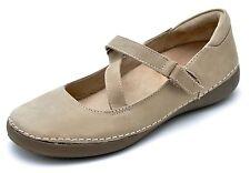 Vionic Orthaheel JUDITH Mary Janes Oat Beige Shoes Women's 7 - NEW