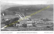 Lumphanan Railway Station Photo. Torphins - Dess. Ballater to Aberdeen Line. (9)