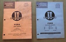 1959 FORD MAJOR DIESEL & POWER TRACTOR I&T SERVICE REPAIR MANUAL