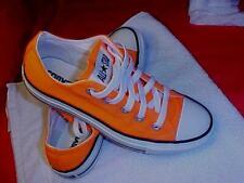 Converse All Stars Womens Sz 6 Mens Sz 4 ORANGE  Sneakers Tennis Walking Shoes