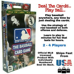 MLB Baseball Card Game Chicago White Sox Edition - US Cellular Field - TDC Games