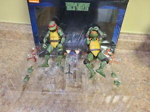 NECA TMNT 1990 Movie Raphael and Michelangelo 2 Pack