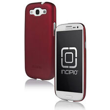 Incipio Feather Case Cover Stand For Samsung Galaxy S III S3 Iridescent Red NEW