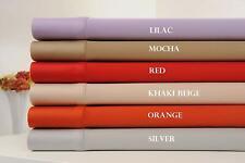 "100% Organic Cotton Queen/Standard Size Pillowcases Set (2pcs, 200TC, 20""x31"")"