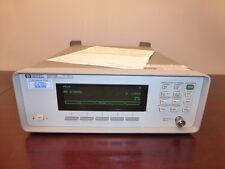 HP Agilent 86120B 700 - 1650 nm Multi-Wavelength Meter - CALIBRATED!