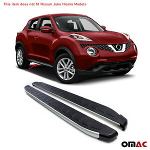 Fits Nissan Juke 2011-2017 Side Steps Running Boards Aluminum Nerf Bars 2 Pieces