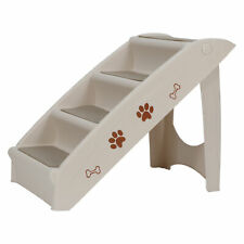 Foldable Dog Ramp Stairs For Small Pets Dog Pickup Travel Ladder MAX 100 LB
