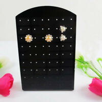 Plastic Display Rack Stand 36 Pairs Earrings Jewelry Show Case Organizer Holder