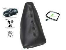 For Ford C-Max 2007-10 5 Speed Gear Gaiter With Plastic Frame Black Leather