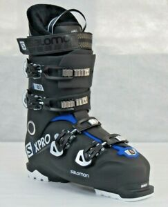 Salomon Mens X-PRO 80 Ski Boots - Black / Race Blue