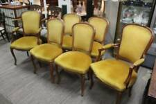 A Vintage Set of Six French Louis XV Chairs including Two Carvers