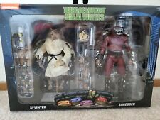 Neca TMNT Movie 2 pack Splinter and Shredder