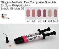 Gingiva Gum Shade Aesthetic Pink Flowable Dental Composite 2 x 2g VITA G3