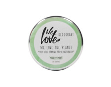 We Love The Planet Natürliche Deo Creme – Mighty Mint 48g ohne Aluminium