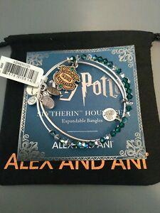 Alex And Ani Harry Potter Slytherin House Set Bracelets Brand New