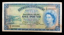 Bermuda 1 Pound, 1957.