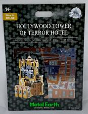 Disney Parks Hollywood Tower of Terror Hotel Metal Earth 3D Model Kits