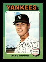 1975 Topps #648 Dave Pagan NM/NM+ RC Rookie Yankees 504647