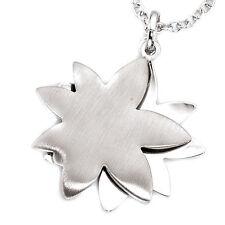 Echte Edelmetall-Halsketten & -Anhänger ohne Steine aus Sterlingsilber mit Florales