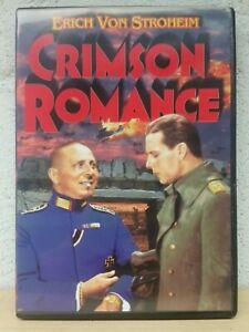 Crimson Romance DVD 1934 Erich Von Stroheim 2006 Alpha Home Release RARE HTF