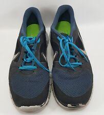 Nike Free Run 3 Blue Black Mens Sz 11 running shoes flyknit