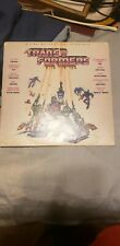 Vinyl records the transformers the movie soundtrack