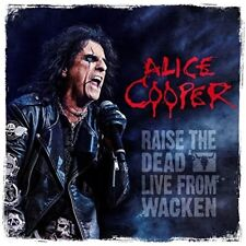 ALICE COOPER - RAISE THE DEAD (LIVE FROM WACKEN)BOX SET 3 VINYL LP+BLU-RAY NEW+