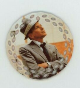 Frank Sinatra Porcelain Christmas Ornament - Italian Singer - Ol' Blue Eyes