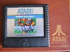 ATARI 5200 REGION FREE OFFERS/COMBINE - SILVER PICTURE- 5207 REALSPORTS FOOTBALL