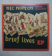 Nic Norton and The Country Band Brief Lives CD EP nr mint