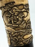 Antique Japan Japon Samouraï Asia Asie Pommeau Antique Sculpture Knob